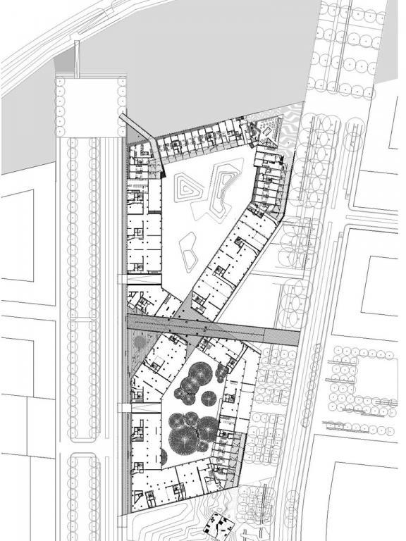 8 house 1500 site plan