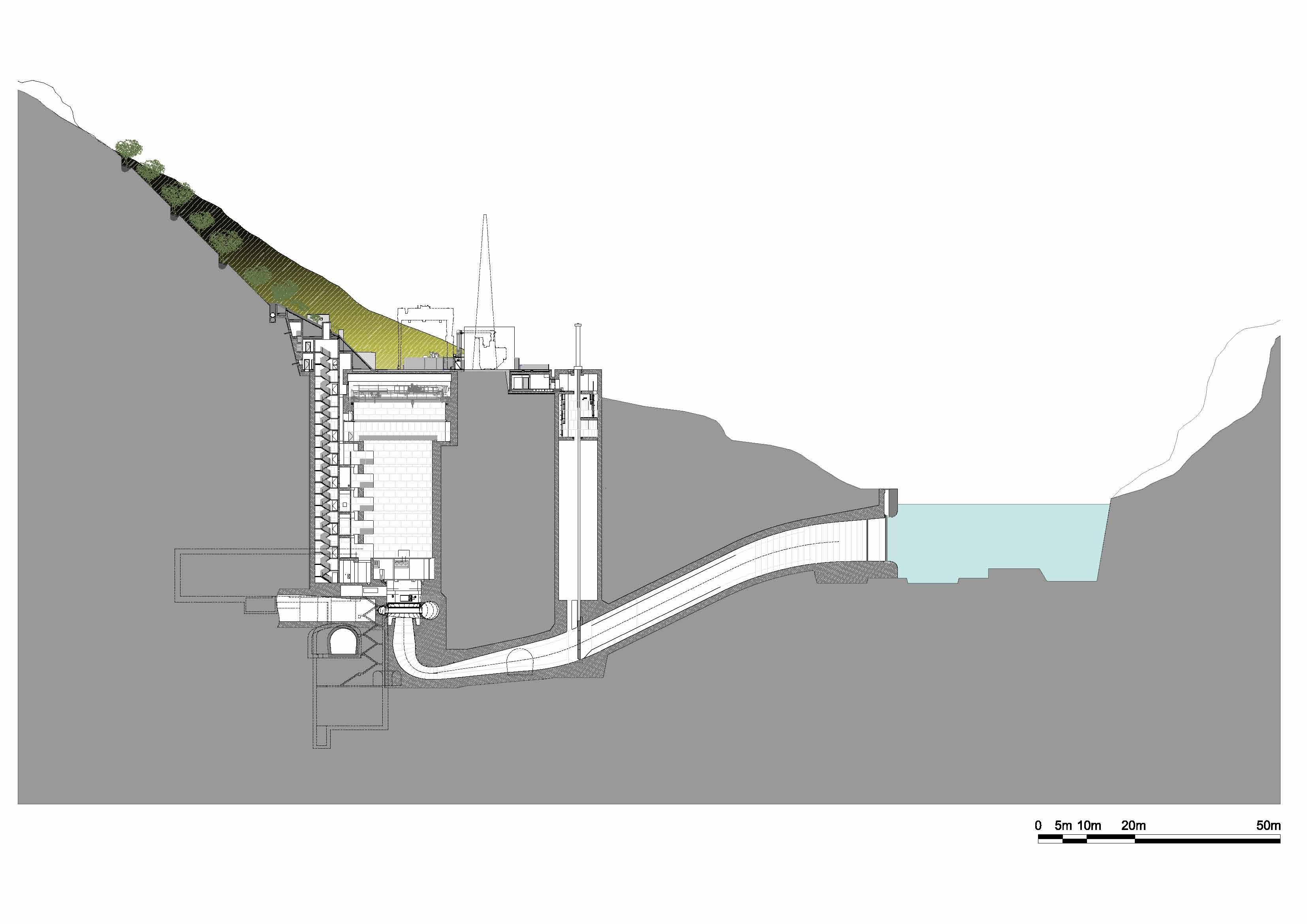 Eumiesaward Beam Bridge Diagram Power Plant Transversal Section
